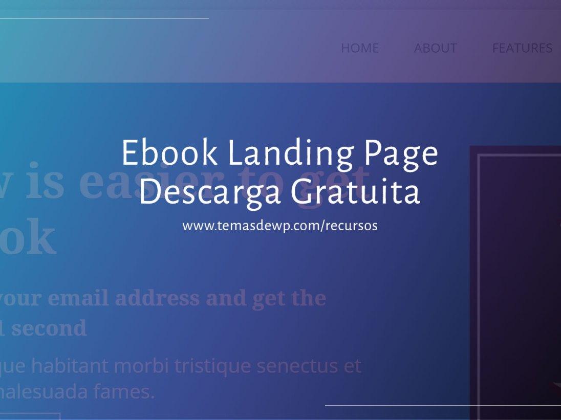 plantilla landing html gratis