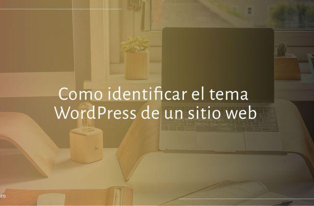 Identificar el tema WordPress de un sitio web