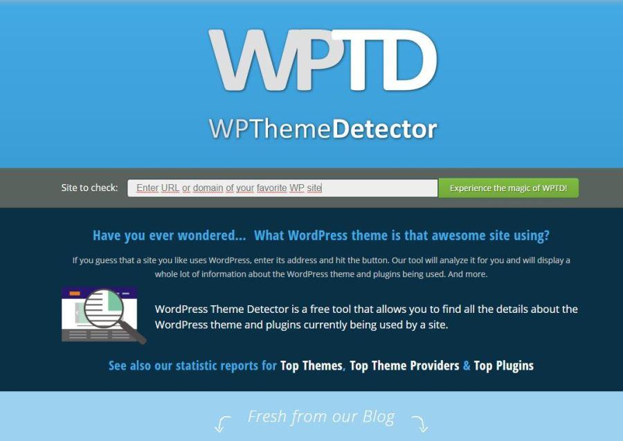 Cómo identificar el tema WordPress de un sitio web | Temas de WordPress