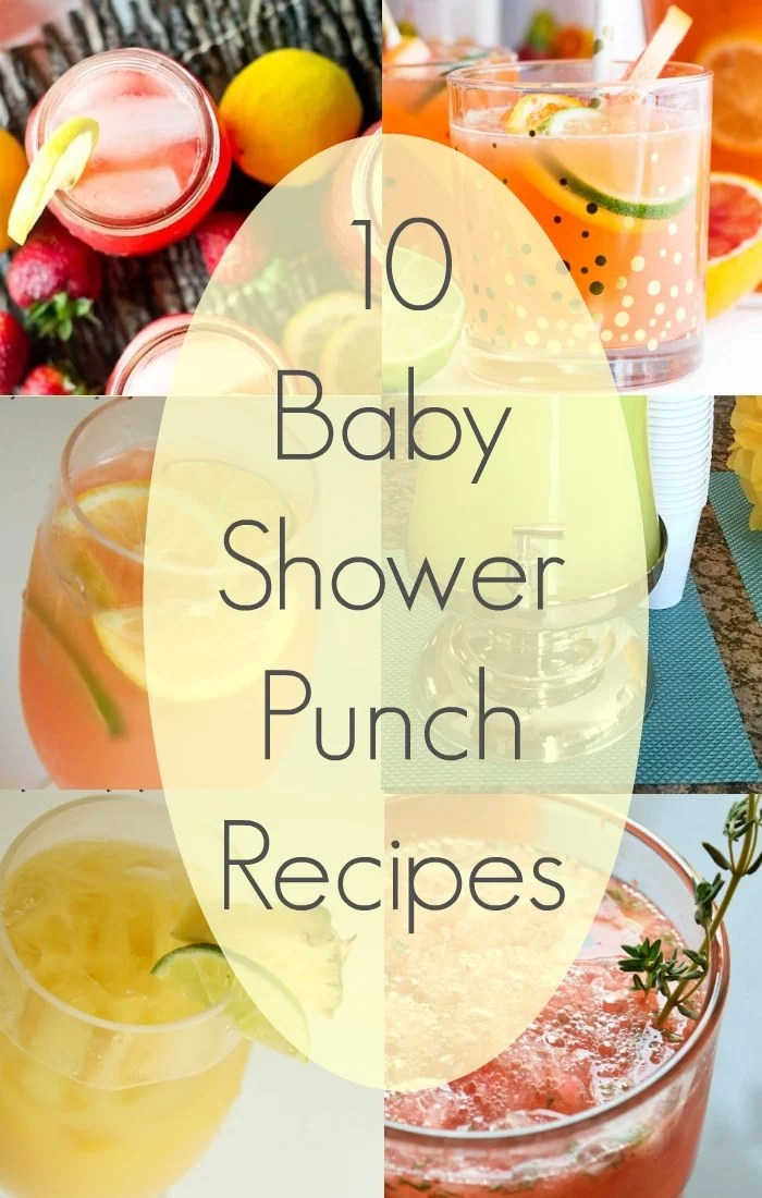 Punch Recipes Boy Baby Shower