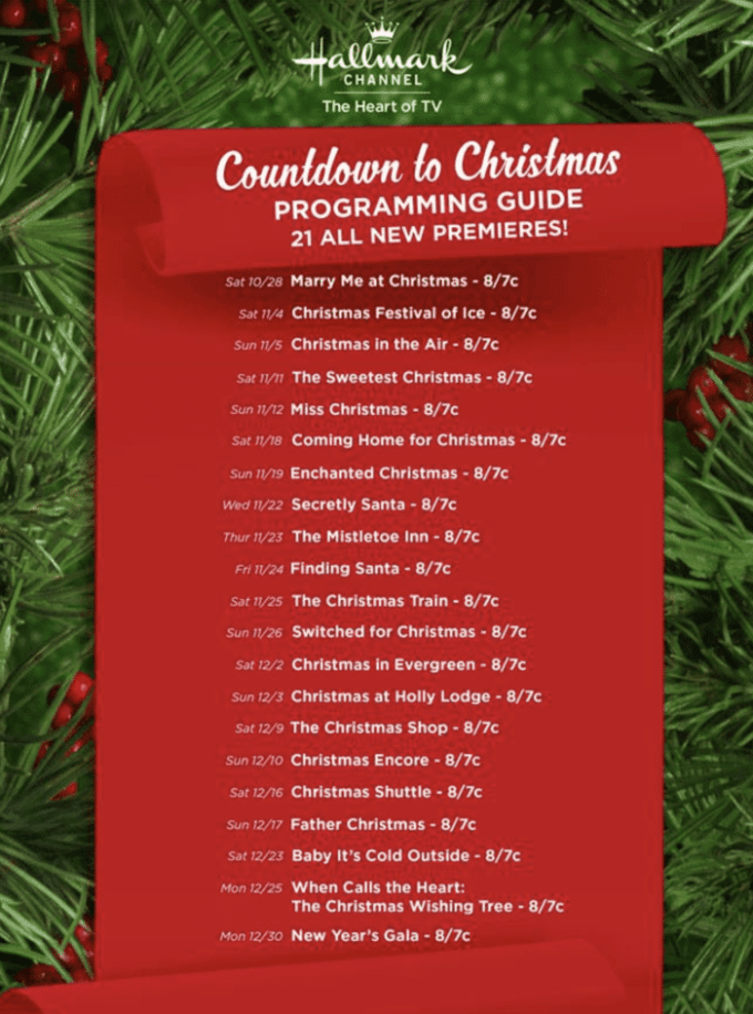 25 days of christmas schedule the typical mom