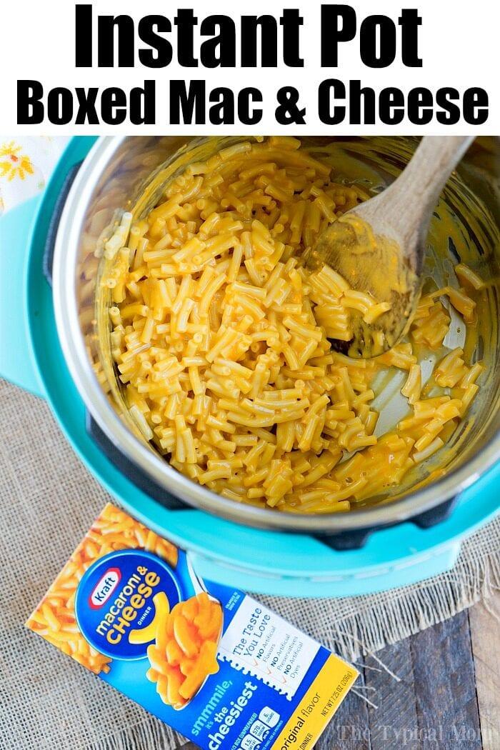 kraft mac and cheese in a pressure