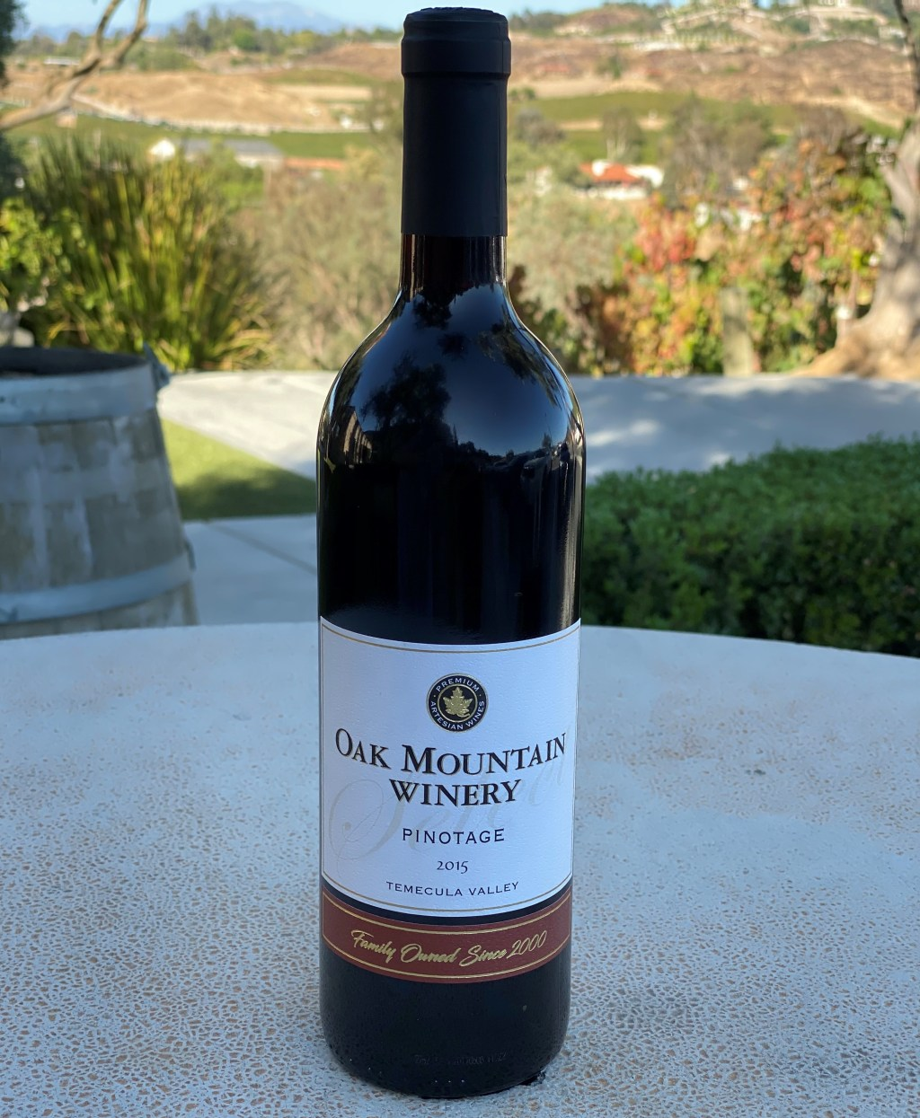 Oak Mountain Winery 2015 Pinotage