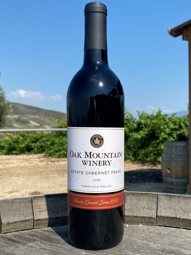 Oak Mountain 2016 Cabernet Franc