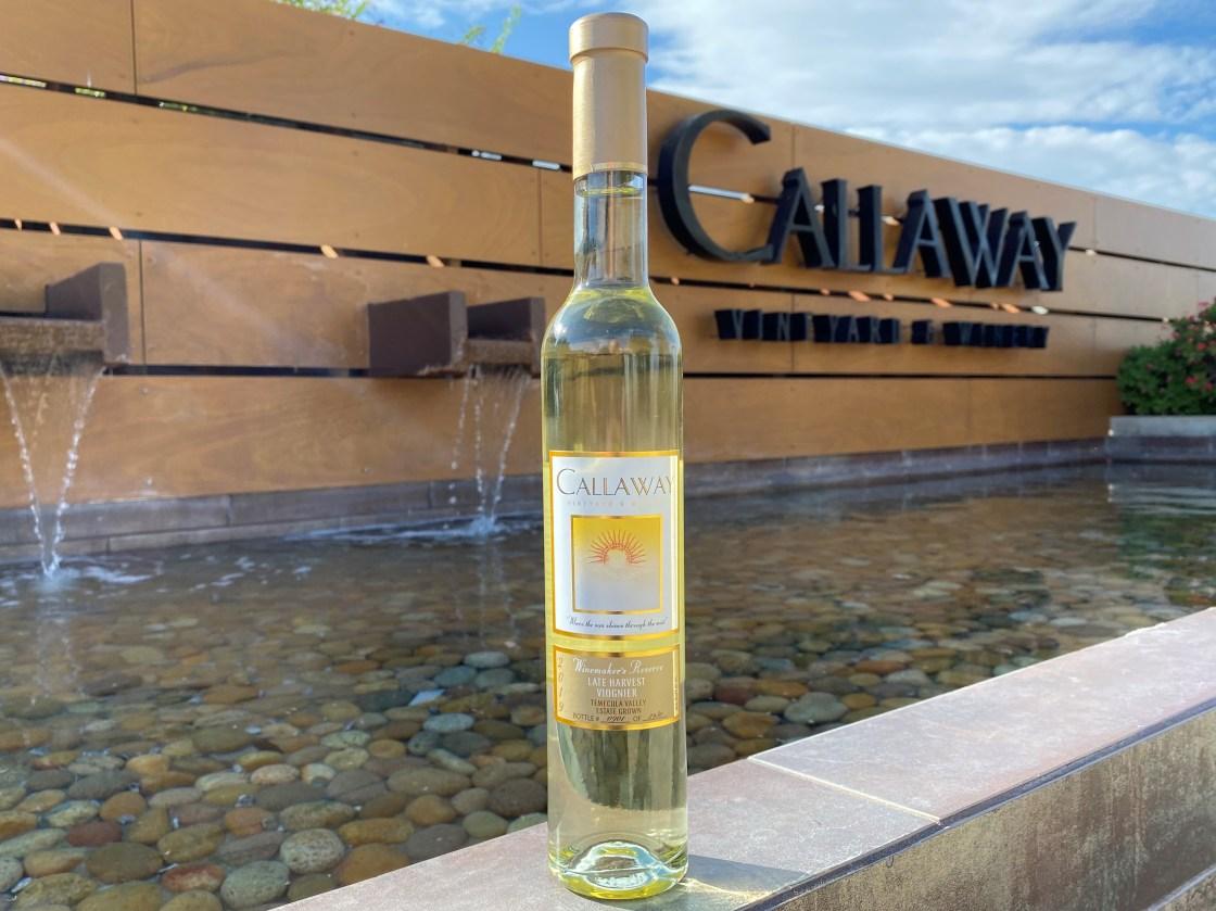 Callaway 2019 Late Harvest Viognier