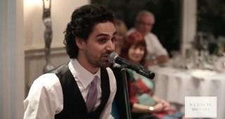 オーストラリアの歌手が結婚する兄のために贈った最高の『スピーチ』が素敵