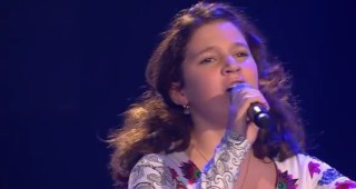 Andrea Bocelli   Time To Say Goodbye  Solomia    The Voice Kids 2015   Blind Auditions   SAT.1   YouTube