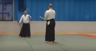 合気道を操る武道家が教える「日本刀を持つ相手への対処法」に驚愕     コモンポスト