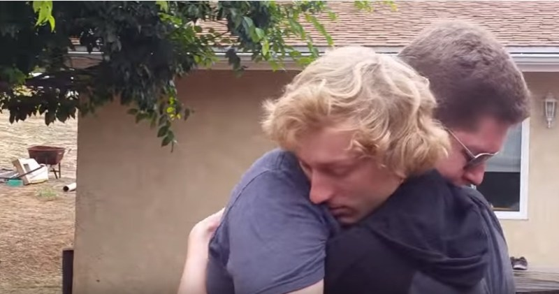 Colorblind brothers overwhelmed by seeing color for the first time   YouTube