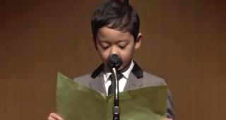作文コンクール最優秀賞 小学一年生が書いた「てんしのいもうと」が素晴らしすぎた