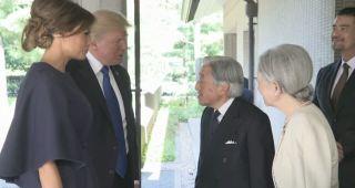 訪日中のトランプ大統領が両陛下と懇談。オバマ前大統領との差が話題に