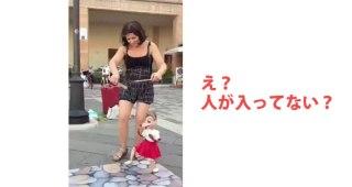 人形を操ってまるで人間のようにダンスさせる女性が話題に!「すげーーー!!!」