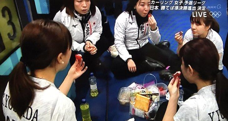 カーリング女子が美味しいと言って食べていた韓国産イチゴに「チョット待った!」
