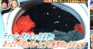 うっかりティッシュまみれになった洗濯物を簡単に綺麗にする方法【ライフハック】