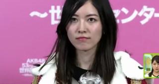 AKBの選挙で1位になった松井珠理奈さんのコメントで言葉遊びが始まる