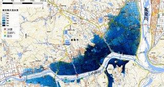 今回の水害はハザードマップ通りだった。この事実を重く受け止めよう。