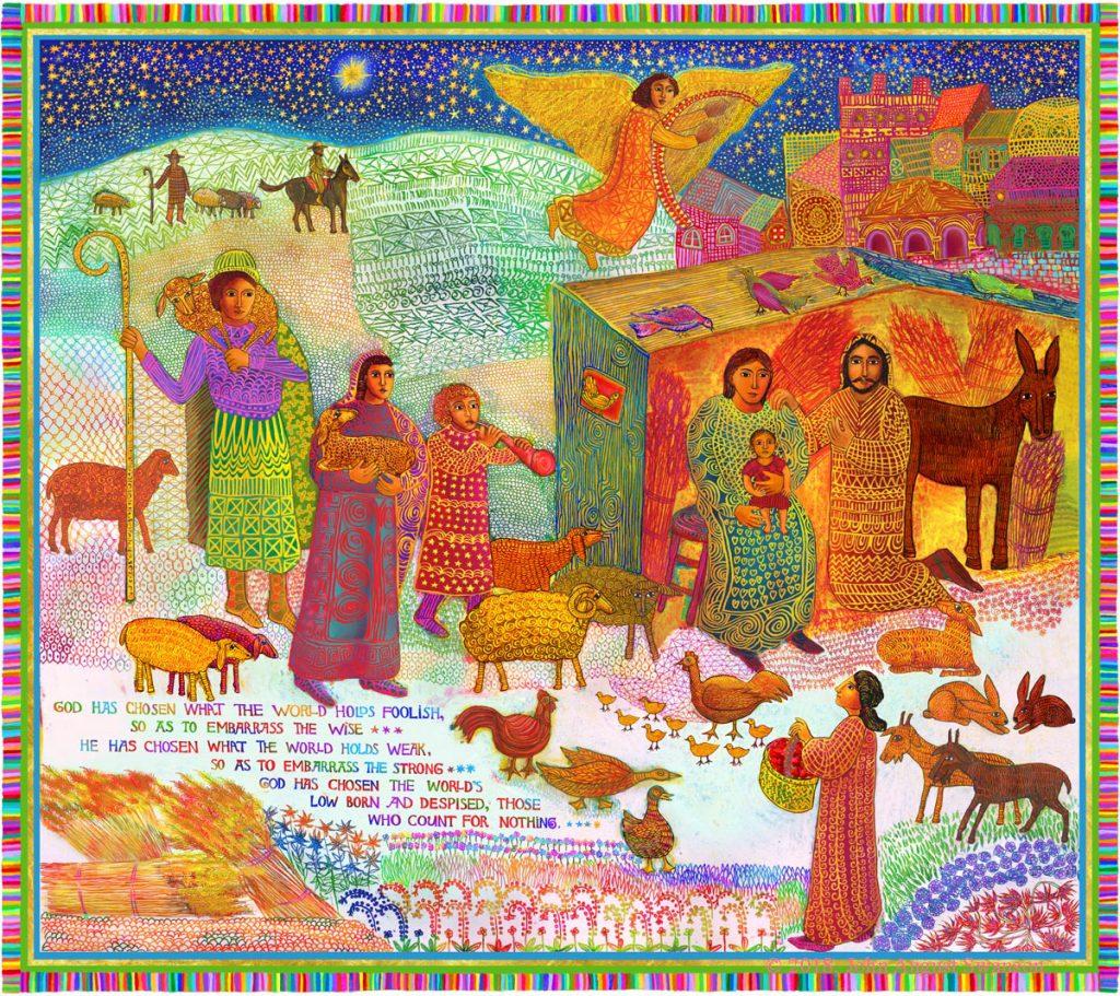 Shepherds, Copyright 2018 by John August Swanson