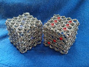 Fuzzy Dice Chainmaille