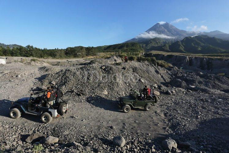Rute Lava Tour Merapi