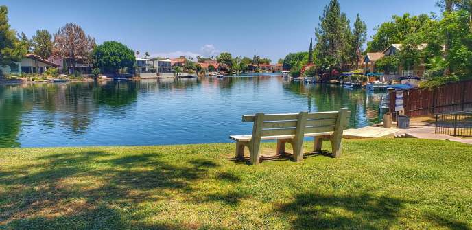 The Lakes in suburban Tempe Arizona