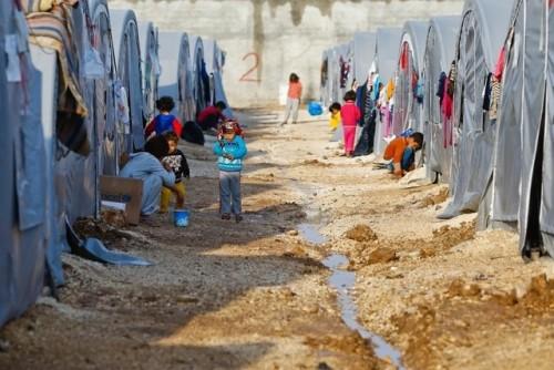 Flüchtlingscamp Syrien
