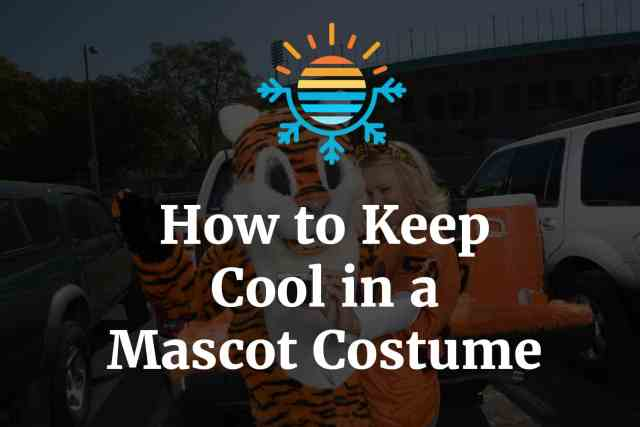 How to Keep Cool in a Mascot Costume