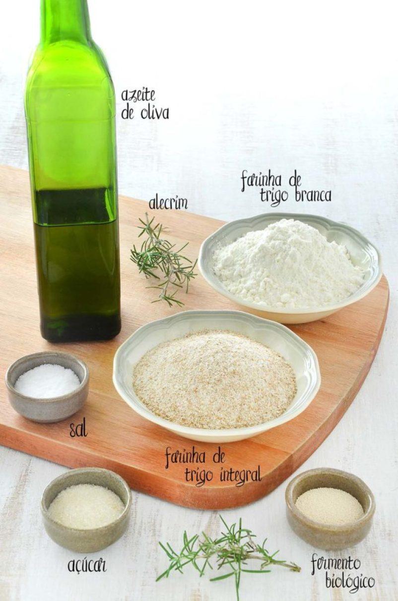 Ingredientes focaccia