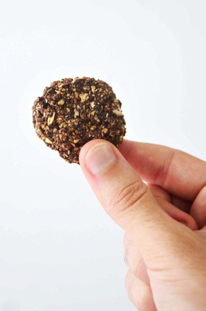 Cookies crocante de aveia fácil