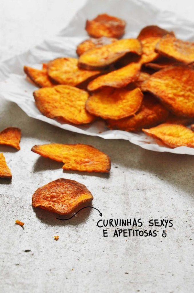 Batatas sequinhas