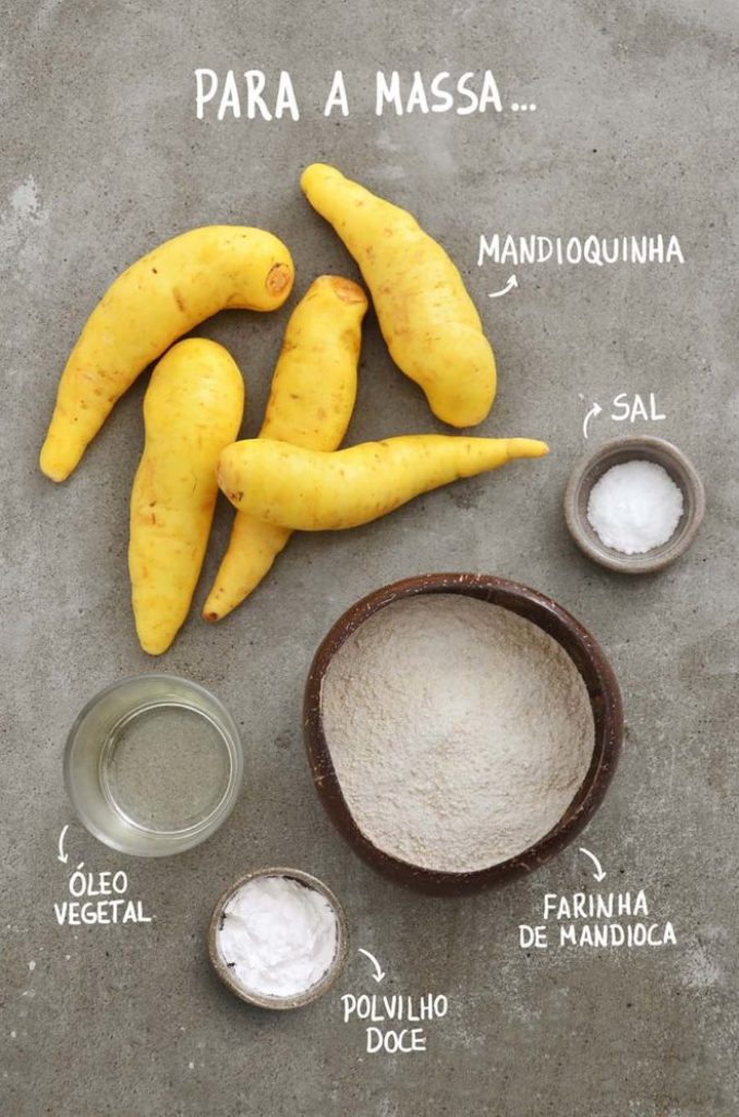 Ingredientes massa