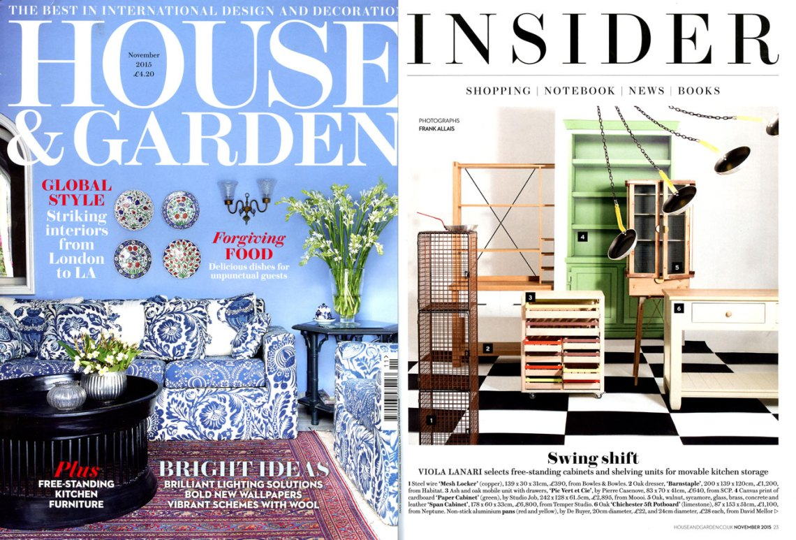 House and Garden November 2015