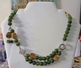 Green Gardens necklace