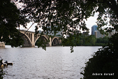 key bridge, looking towards rosslyn