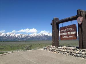 Grand Teton Sign (Jackie and Leon)