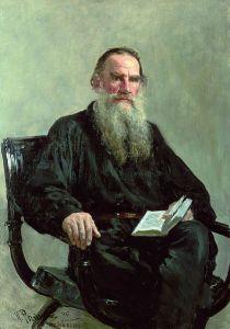 Tolstoy - EfimovichRepin_(1844-1930)_-_Portrait_of_Leo_Tolstoy_(1887) WikiCommons