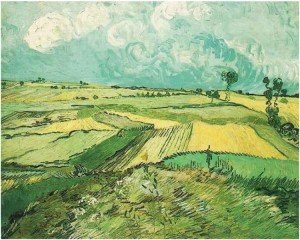 Van Gogh - Wheat-Fields-at-Auvers-Under-Clouded-Sky_July_1890 (WikiCommons)