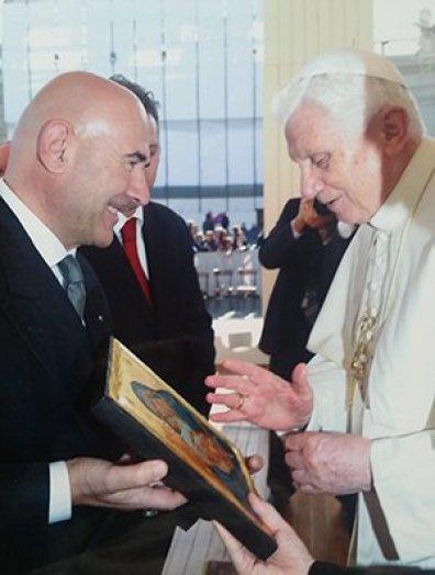 Templari Papa Benedetto XVI