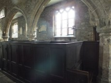 The medieval church and later box pews