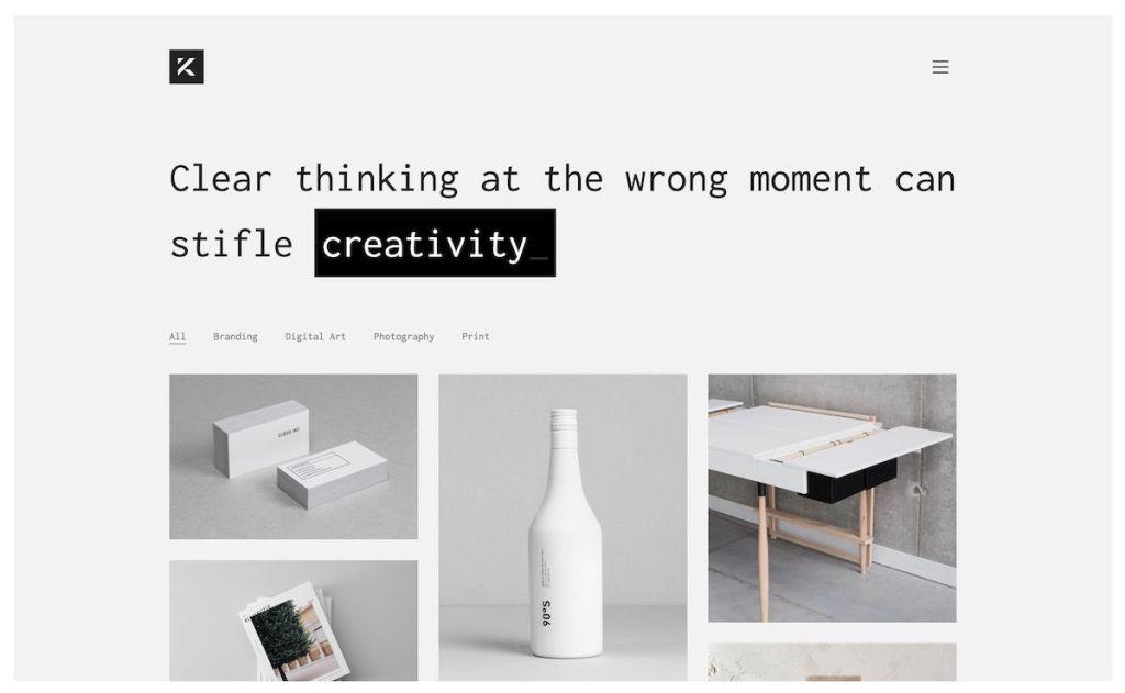 Kalium Creative WordPress Theme for Professionals - Template7