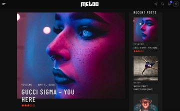 Meloo - Music Producers-Template7