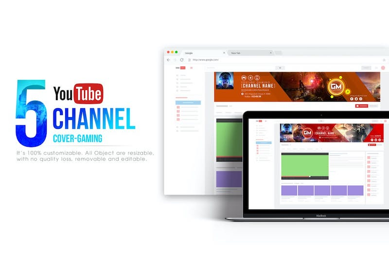 Great Banner Templates for YouTubers