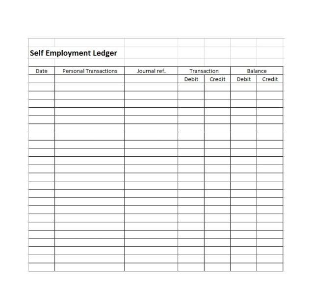 Self employment ledger template excel free download maxwellsz