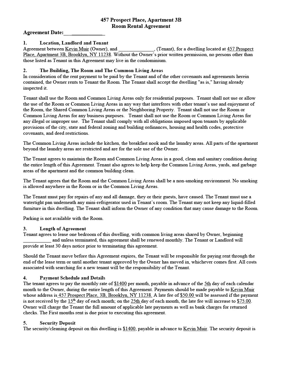 298 x 386 · png. 39 Simple Room Rental Agreement Templates Templatearchive