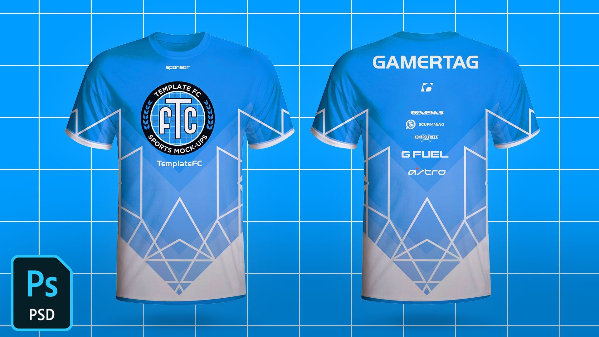 jersey mockup 40 free fabulous jersey psd templates for your design portfolio. Esports Jersey Template Mock Up Free Template Fc Free