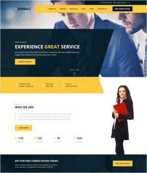 Fondex beats most other consulting website templates in terms of demo variety with its 35+ homepage demos! 58 Best Consulting Website Templates 2018 Free Premium Templatefor