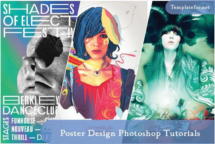 41 simple poster design photoshop
