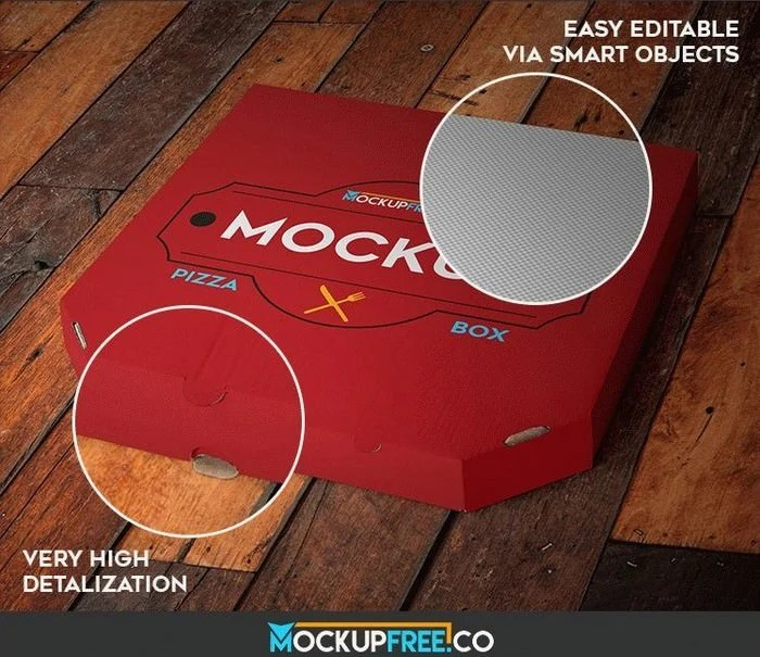 Download 25+ Best Pizza Box Mockup PSD Templates 2020 - Templatefor