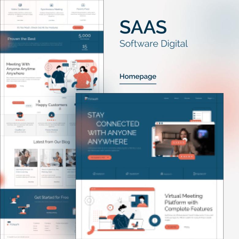 Foruum   SaaS & App Elementor Template Kit - 1