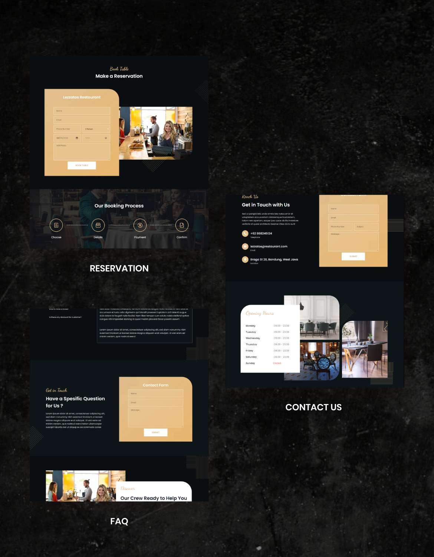 Lezzatos | Restaurant & Cafe Elementor Template Kit - 3