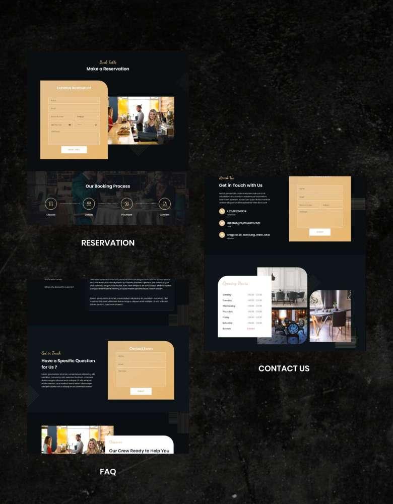 Lezzatos   Restaurant & Cafe Elementor Template Kit - 3